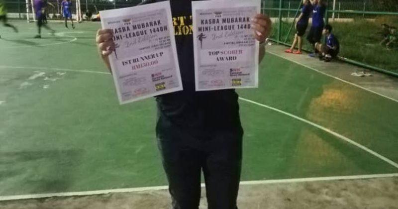 Pertandingan futsal selepas solat tarawih di Kampung Samariang dipersoalkan masyarakat