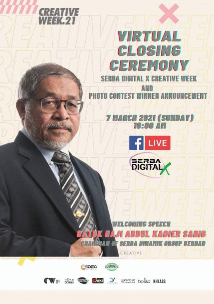 Creative Week 21 Virtual Closing Ceremony