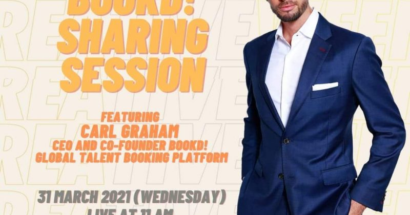 Creative Week 21- Bookd! Sharing Session Featuring Carl Graham