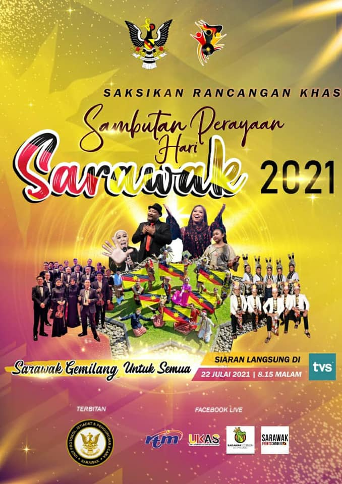 COVID19 will not able to stop the spirit of Sarawakian celebrating Sarawak Independence Day on 22 July.