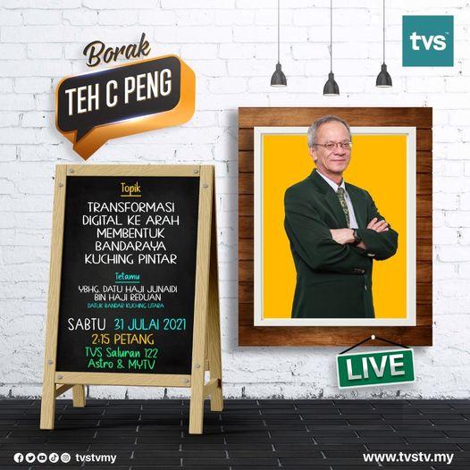 Jom bersama YBhg Datu Haji Junaidi Bin Haji Reduan, Datuk Bandar Kuching Utara d…