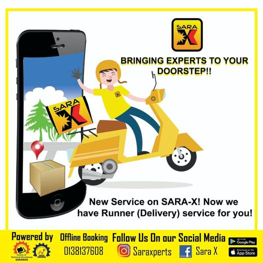 [NEW SERVICE ON SARA-X]  Hello everyone! SARA-X just added a new service for all…