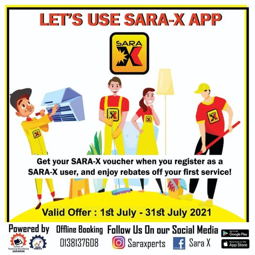 [SPECIAL OFFER FOR NEW SARA-X USERS]  Happy Monday to all Facebook users!  SARA-…