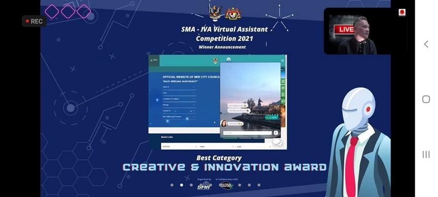 MBM naib johan kategori utama Pertandingan SMAIVA 2021