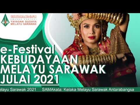 Amanah Khairat Yayasan Budaya Melayu Sarawak e Festival Kebudayaan Melayu Sarawak 2021
